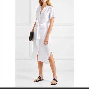 James Perse Linen Shirtdress Dress